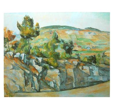 Paul Cezanne Berge in der Provence
