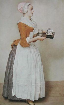 Jean Etienne Liotard Das Schokoladenmaedchen