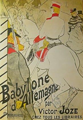 Henri Toulouse-Lautrec  Babylone d Allemagne