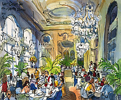 Michael Leu Luncheon at Musee d Orsay