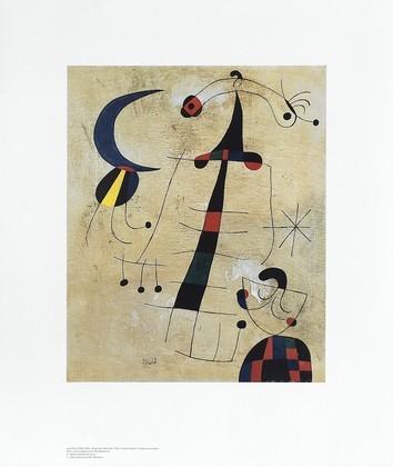 Joan Miro Klage der Liebenden
