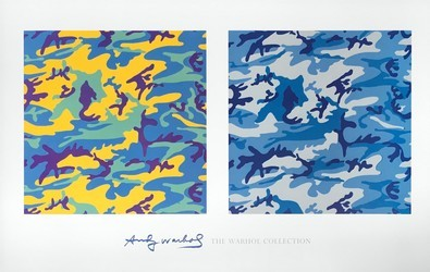 Andy Warhol Camouflage 1986