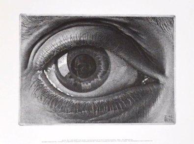 MC Escher Auge