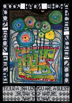 Friedensreich Hundertwasser Arche Noah - Hundertwasser