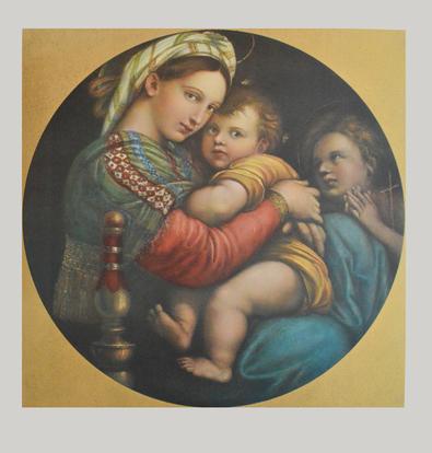 Raffael Madonna della Sedia