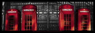Stephane Rey-Gorrez London-Red Telephone Boxes