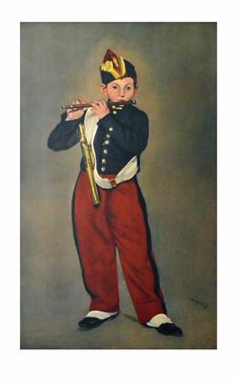 Edouard Manet Der Pfeifer (gross)