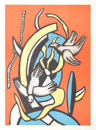 Fernand Leger Les Oiseaux