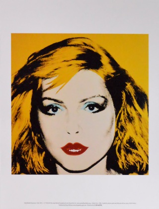 Andy Warhol Debbie Harry 1980