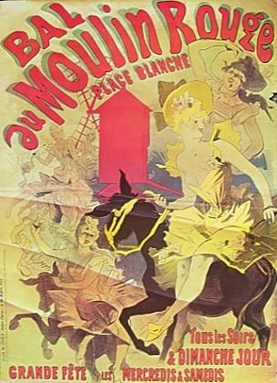 Ateliers Cheret Bal au Moulin Rouge