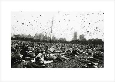 Garry Winogrand Peace Demonstration Central Park New York 1970