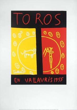 Pablo Picasso Toros en Vallauris