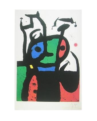 Joan Miro The Matador