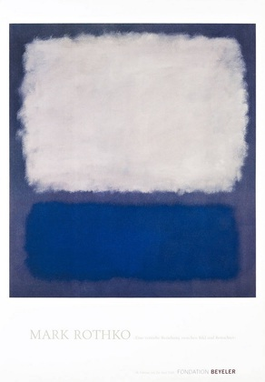 Mark Rothko Blue and Grey