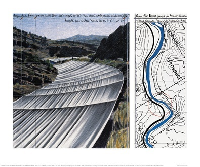 Christo Over The River XI Project for Arkansas River