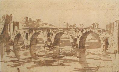 Nicolas Poussin Ponte Molle bei Rom