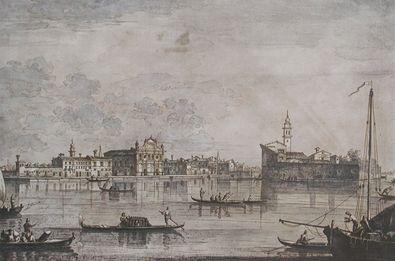 Giovanni Antonio Canaletto - Canale Ansicht des Hauptkanals von Murano