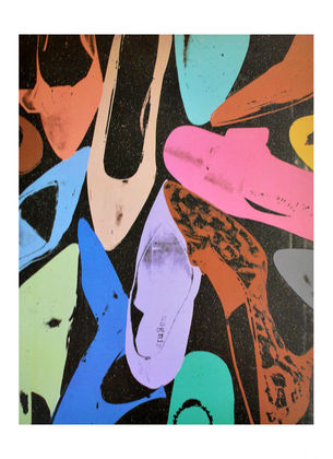 Andy Warhol Diamond Dust Shoes III