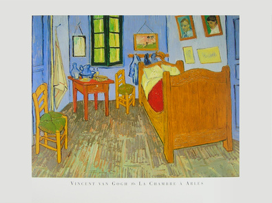 vincent van gogh das schlafzimmer in arles poster kunstdruck bei. Black Bedroom Furniture Sets. Home Design Ideas