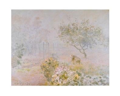 Alfred Sisley Im Morgendunst