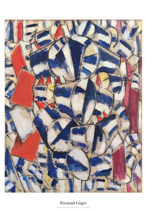 Fernand Leger Kontrast der Formen