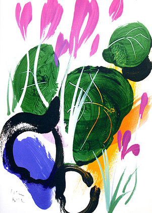 Brian Grimwood Violets