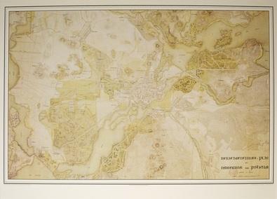 Peter Joseph Lenne Verschoenerungsplan von Potsdam  1833