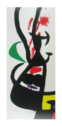 Joan Miro Le Chef Des Equipages