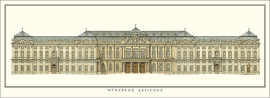 Balthasar Neumann Wuerzburg, Residenz