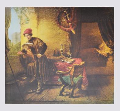 Rembrandt Der Student