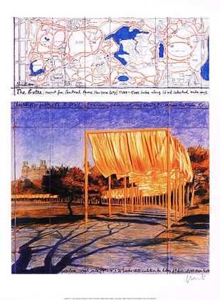Christo und Jeanne-Claude The Gates III