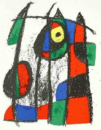 Joan Miro Volume 2 Blatt 7 unsigniert