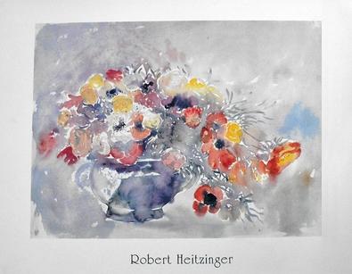 Robert Heitzinger Blumen in Vase