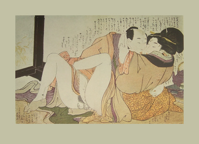 Kitagawa Utamaro Erotische Holzschnitte II