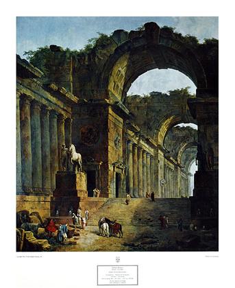 Huber Robert Brunnen bei den Ruinen