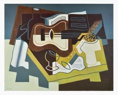 Juan Gris Gitarre und Klarinette