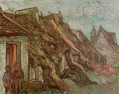 Vincent van Gogh Bauernhaeuser