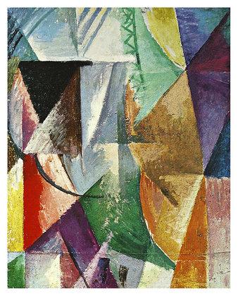 Robert Delaunay Ein Fenster, 1912
