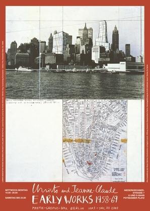 Christo Lower Manhattan (1964-1966)