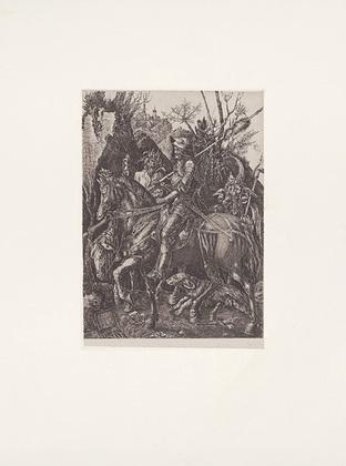 Zwicker Duerer, Ritter,Tod + Teufel
