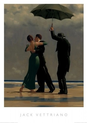 Jack Vettriano Dancer in Emerald