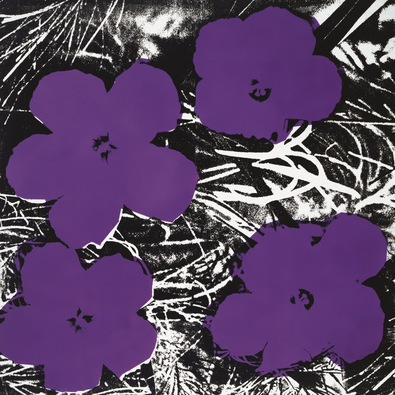 Andy Warhol Flowers 1965 4 purple