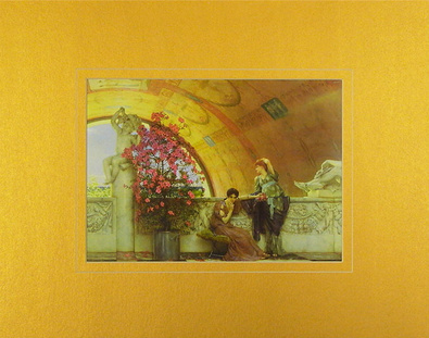Sir Lawrence Alma-Tadema Unconscious Rivals