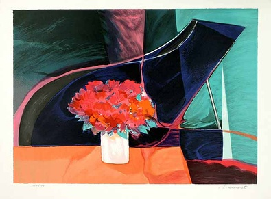 Claude Hemeret Fleurs et Piano