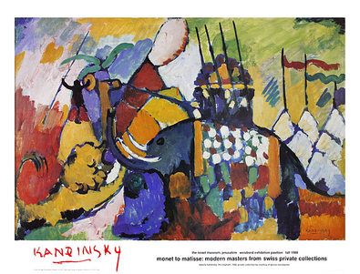 Wassily Kandinsky Der Elefant (gross)