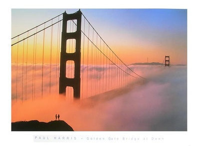 Paul Harris Golden Gate Bridge at Dawn