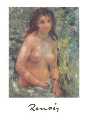 Pierre Auguste Renoir Maedchen in der Sonne