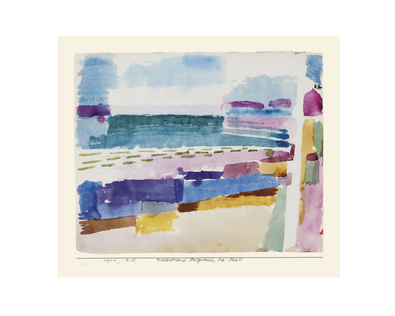 Paul Klee Badestrand St. Germain bei Tunis