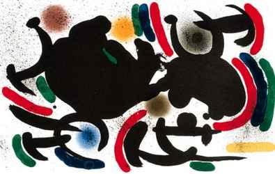 Joan Miro Volume 1 Blatt 7 unsigniert