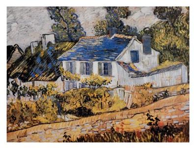 Vincent  van Gogh Haeuser in Auvers II